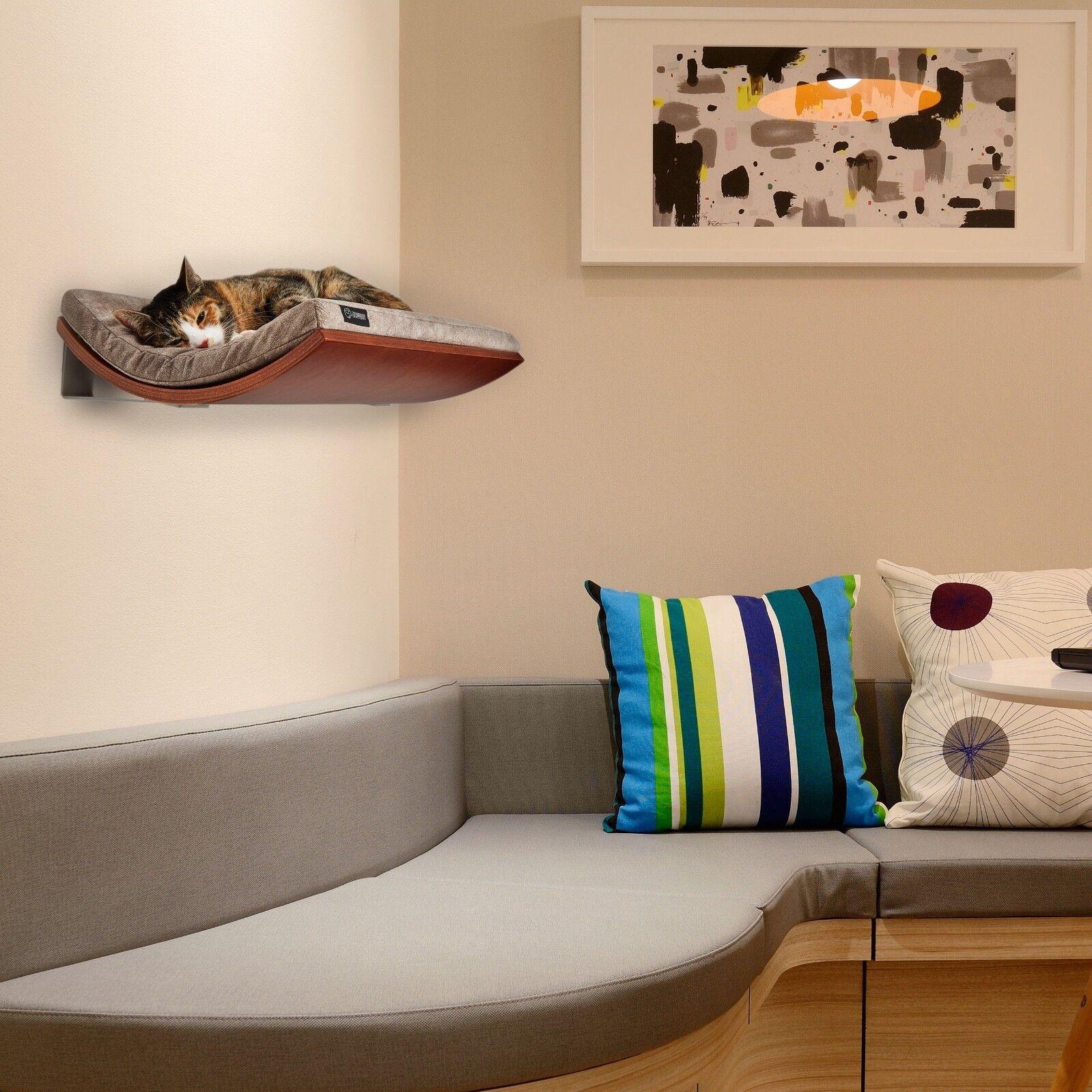 FREE SHIPPING -U.S. Cat perch, Cat bed, Cat furniture, Designer cat shelf