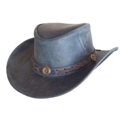 Black Outback Survival Gear Broken Hill Old West Hat
