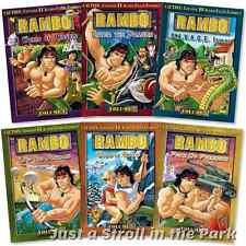 Rambo Animated Series: Complete TV Series Volume 1 2 3 4 5 6 Box/DVD Set(s)