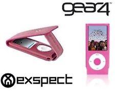 TWIN Pack Exspect Flip & Gear4 Pelle Custodia Cover per iPod Nano 4a generazione