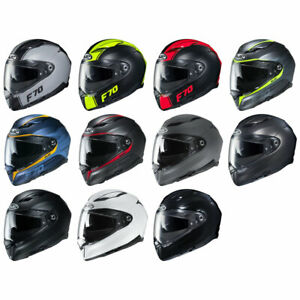 NEW-HJC-F70-Full-Face-Motorcycle-Helmet-DOT-ECE-Pick-Size-amp-Color