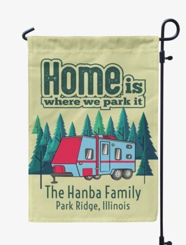 Printtoo CampingFlagCustom Personalized CampingFlagsFor Campers-BTT-PRCM244B
