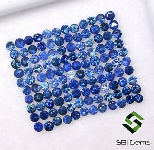 5-00-Cts-Natural-Blue-Sapphire-Round-Diamond-Cut-1-50-mm-Lot-Loose-Gemstones