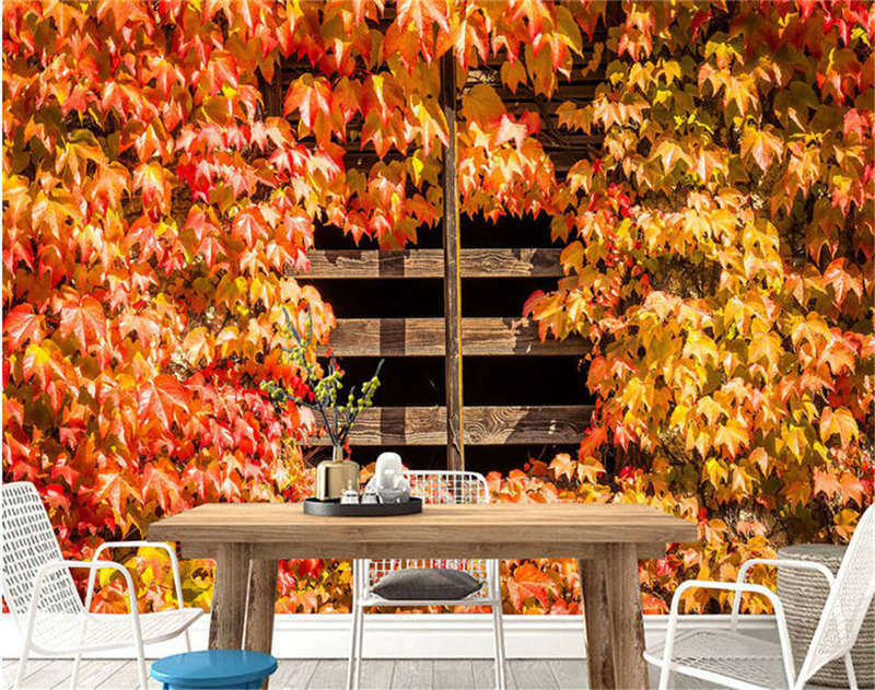 Crooked Ripe Maple 3D Full Wall Mural Photo Wallpaper Printing Home Kids Decor