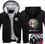 Chaud épaissir Alfa Romeo Hoodie Jacket Cosplay Pull Polaire Manteau TEAM RACE