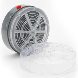 Solar Power Buzz UV Lamp Light Fly Insect Bug Mosquito Kill Zapper Killer+Socket
