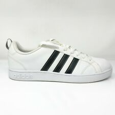Size 9.5 - adidas VS Advantage White Black