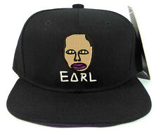 Odd Future OFWGKTA EARL FACE Stitched Embroidered Wolf Gang Snapback Cap Hat
