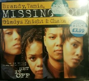 Details about Brandy,Tamia, Gladys Knight & Chaka Khan - Missing You - Maxi  CD Single 5 Songs