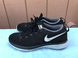 bdf6bad7dabc EUC! Men s US 9 Nike Flyknit Lunar2 Running Training Shoes 620465 ...