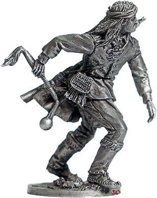 Tin soldier 54 mm Indian figure