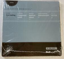 Creative Memories 8.5 x 11  Side Loading Sleeves New in Package