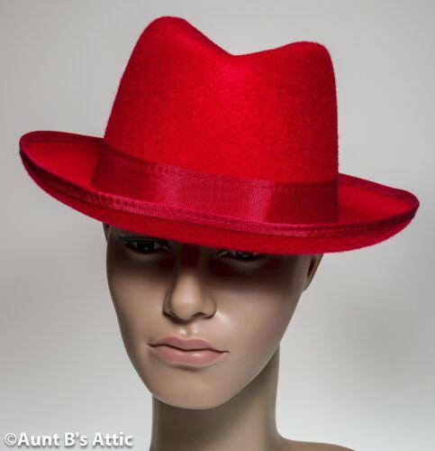 Hat Homburg Men/'s 1930/'s-1950/'s Pressed Felt Godfather Style Costume Hat