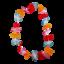 Indexbild 1 - 2X Collier de Fleurs Hawaïen 90cm Bienvenue Lei Hula Hawaï Plage Déguisement