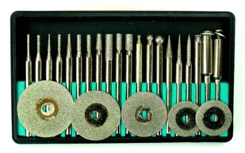 Diamant-Fräser-Set Diamant-Schleifer Schleifstift Bohrer Satz für Dremel L2
