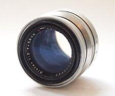 Carl Zeiss Jens T 5.8cm F2 Biotar Exakta Mount Lens 58mm Stock No u7076