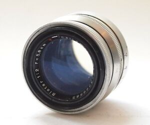Details about Carl Zeiss Jens T 5 8cm F2 Biotar Exakta Mount Lens 58mm  Stock No u7076
