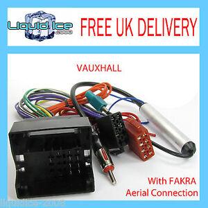 Vauxhall-MERIVA-SIGNUM-ISO-LEAD-HARNESS-WITH-FAKRA-AERIAL-ADAPTOR