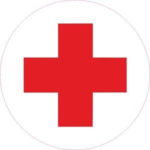 Rot Kreuz Aufkleber NVA Kfz Sanikasten Sanitäter Erste Hilfe ... | {Sanitäter symbol 30}