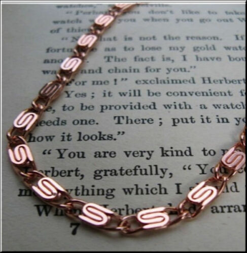 Solid Copper Anklet CA606G 8 to 11 inch lengths 3//16 inch wide