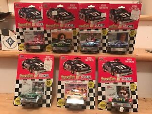 Lot-of-7-Nascar-Racing-Champions-1-64-Die-Cast-1993-Edition-NIP-Jeff-Gordon