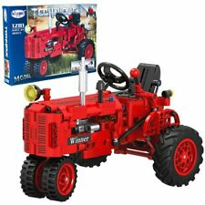 Roter Tractor Bausteine Kompatibel mit LEGO TECHNIC 302 Teile - Winner 1281 NEU