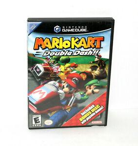 Mario Kart: Double Dash!! (GameCube 2003) w/ Bonus Disc - Complete - TESTED