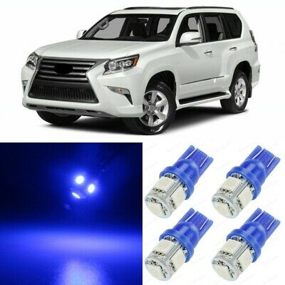 16 x ICE BLUE Interior LED Lights Package For 2010-2017 Lexus GX460 TOOL