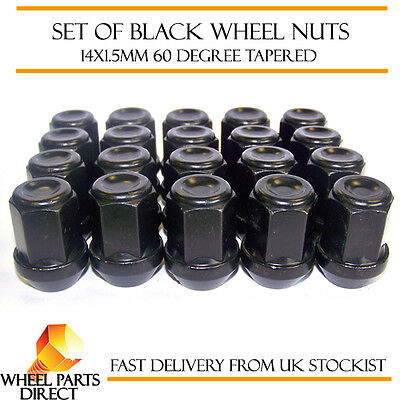16 06-12 Mk2 14x1.5 Bolts Tapered for SsangYong Rexton Alloy Wheel Nuts