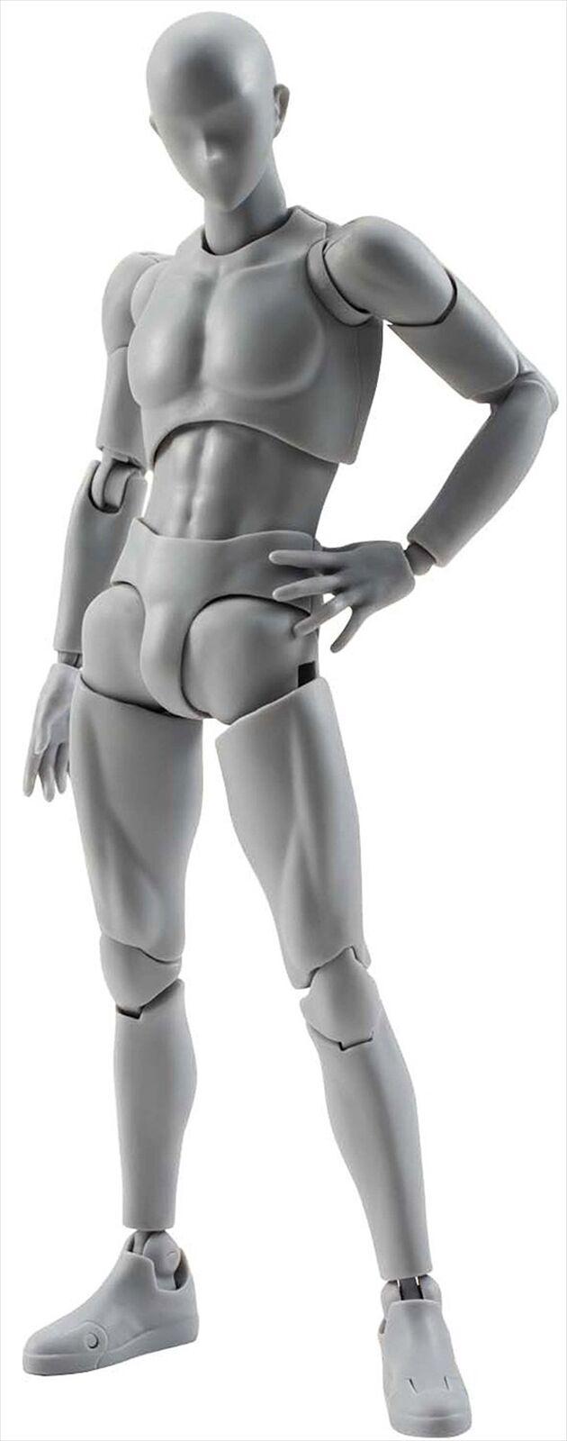 Bandai S.H. Figuarts Cuerpo-Kun DX Set Color gris Ver. figura De Acción