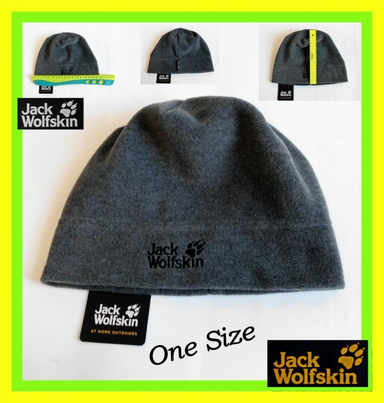 Jack Wolfskin Mütze Fleece Damen Mütze Herren Mützen Beanie Neu