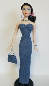 GENE-DOLL-CLOTHES-Dress-Purse-and-Jewelry-Set-handmade-FASHION-NO-DOLL-d4e