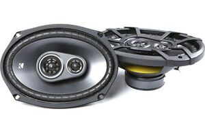 "Buyer's Pick! Kicker 43CSC6934 6"" x 9"" Triaxial Car Speakers (Pair). Limited QTY"