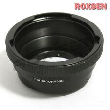 Pentacon 6 Kiev 60 Jupiter lens to Nikon F mount Adapter D4 D4S D610 D800 D7100