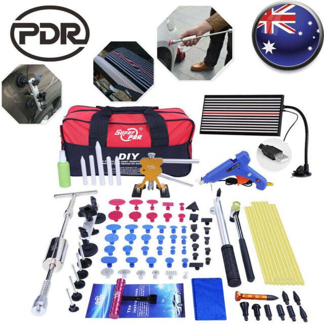 PDR 95PCS Hail Removal Tool LED Line Board Slide Hammer Puller Lifter Repair Kit