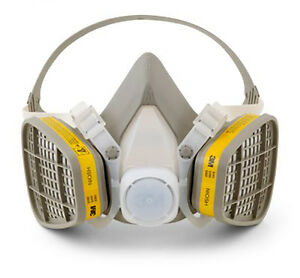 3M 5203 Half Facepiece Disposable Respirator Assembly, Organic Vapor/Acid Gas
