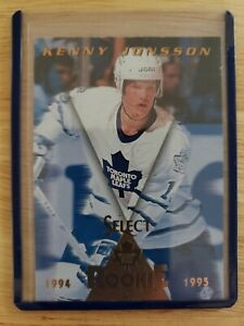 1994-95-Pinnacle-Select-ROOKIE-RC-Kenny-Jonsson-Toronto-Maple-Leafs-Card-172