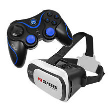 VR Virtual Reality Brille Smartphone und Android 4.0 Bluetooth Game Controller