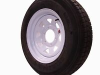 15 Utility Boat Trailer Wheel Tire W/spoke 6 Lug 225r