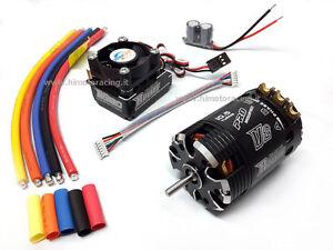 Capteurs sans balais combinés Rocket Motor 540 10.5t Régulateur 120a Turbo modifié