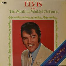 """ELVIS PRESLEY - THE WONDERFUL WORLD OF CHRISTMAS  12""""  LP (N948)"""