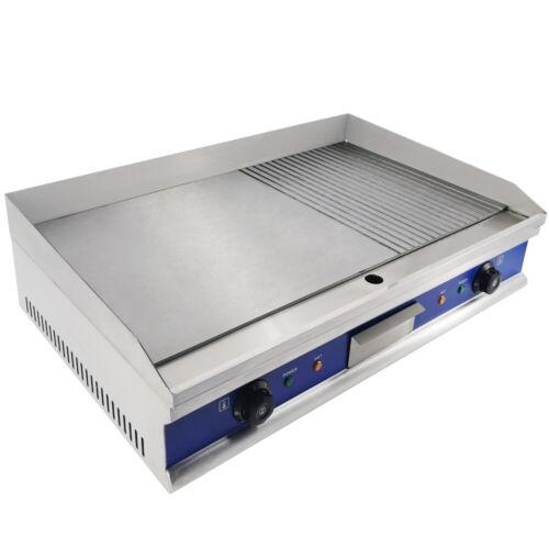 Elektrische Grillplatte Bratplatte Grilldleplatte Elektro Grillplatte 4400W BBQ