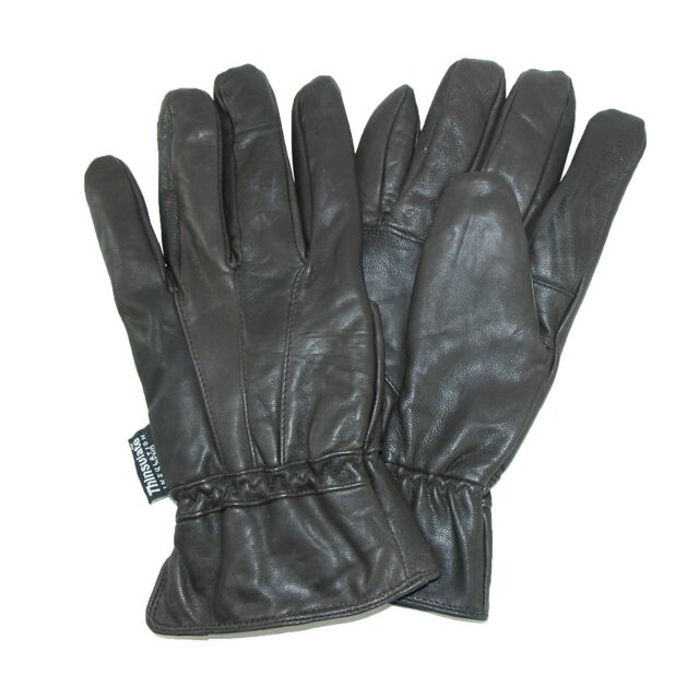 Women Lady Soft Lambskin Genuine Leather Gloves With Silk Lining Driving Gloves