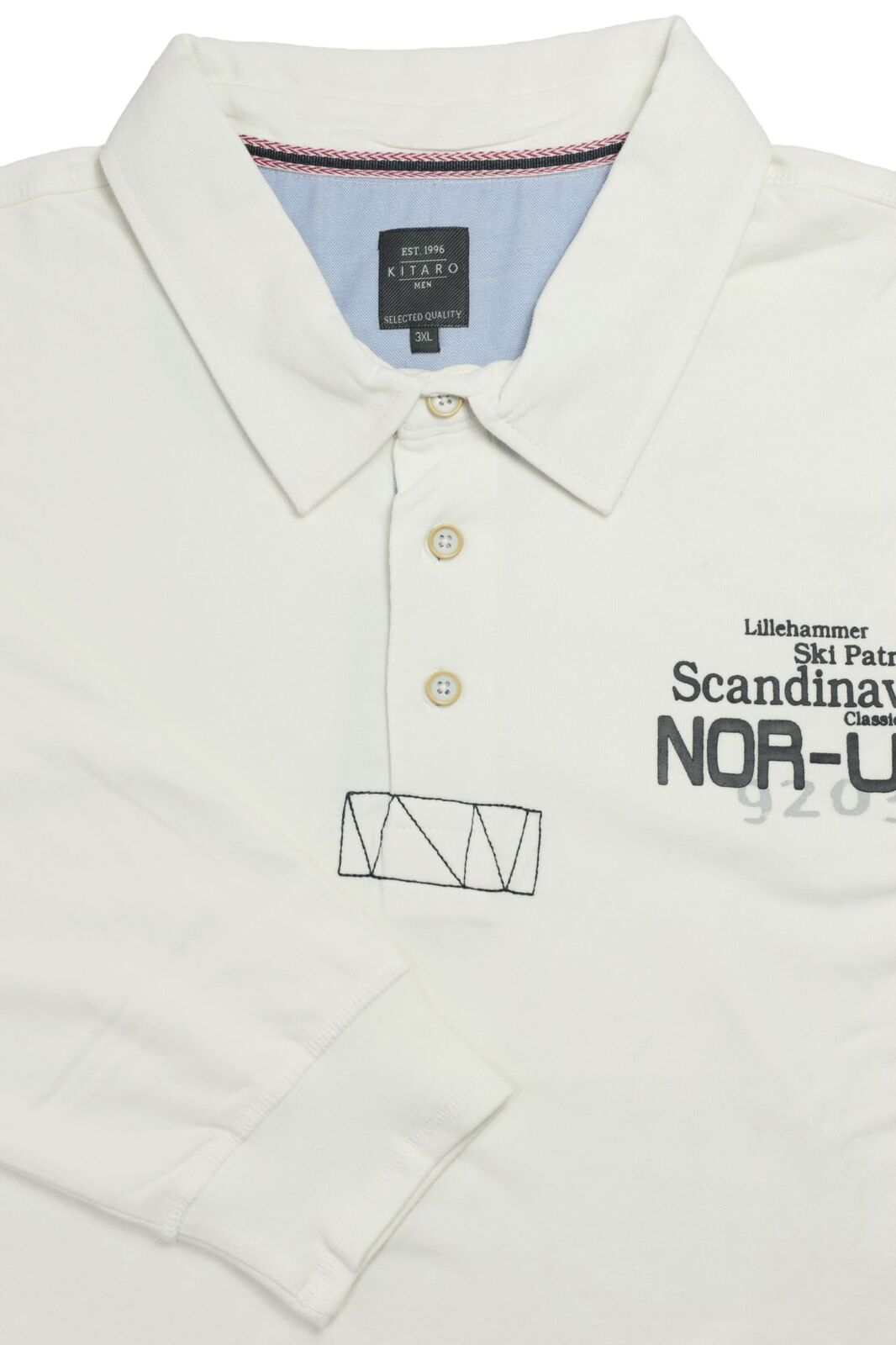 Kitaro Polosweat Sweatshirt Polo Sweat Shirt Herren Langarm Plusgröße Plusgröße Plusgröße Übergröße  | Speichern  6e6fde