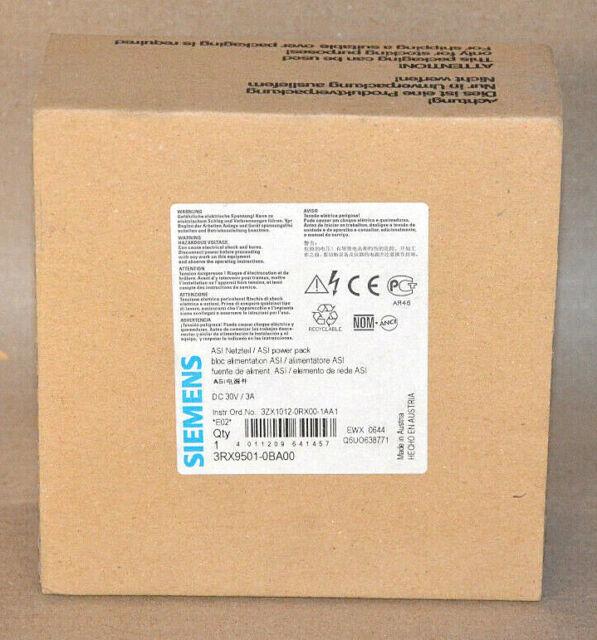 Siemens 3RX9501-0BA00 Asi Adaptador de Red Nuevo Emb. Orig. Sellado