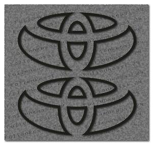 Toyota-Logo-2-Aufkleber-Decal-Sticker-Yaris-Corolla-Avensis-Prius-Toyo003
