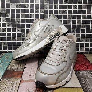 ... Nike-Air-Max-90-Filles-Baskets-Taille-2-