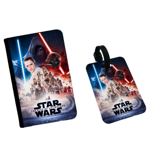 Star Wars The Rise Of Skywalker Back To Back Fight Passport Flip Cover Case
