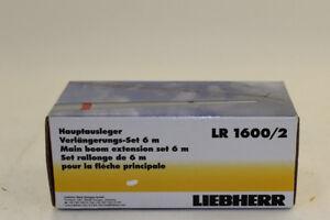 NZG-843-2-Liebherr-LR-1600-pieza-intermedia-hauptausleger-6m-1-50-nuevo-en-OVP