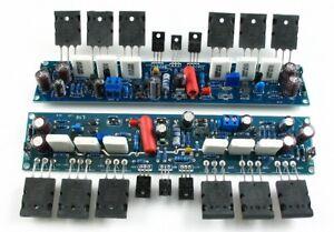 2-Channel-L10-Power-amplifier-finished-board-Transistor-amp-board-A1943-C5200